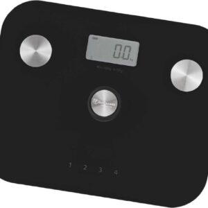 Beepower - Personenweegschaal - Self powered - Met lichaamsanalyse - Zwart (8719925781896)
