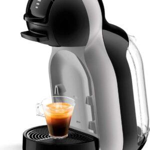 NESCAFÉ Dolce Gusto door De'Longhi Mini Me EDG155. BG Pod koffiezetapparaat en andere automatische drankjes - zwart & kunstgrijs 1460 W (8004399332959)