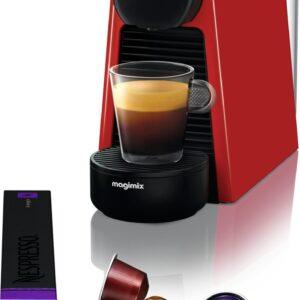 Nespresso Magimix Essenza Mini M115 - Koffiecupmachine - Ruby Red (7630039619633)