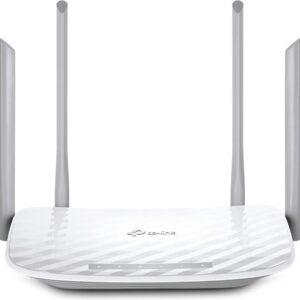 TP-LINK AC1200 draadloze router Dual-band - (2.4 GHz / 5 GHz) - Gigabit Ethernet Wit (6935364083687)