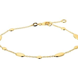 The Fashion Jewelry Collection Armband 1,2 mm 17 - 19 cm - Geelgoud (8718834502691)