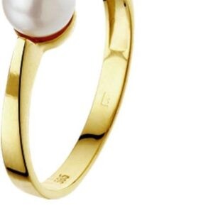 The Jewelry Collection Ring Parel - Geelgoud (8718834189007)
