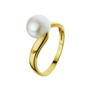 The Jewelry Collection Ring Parel - Goud (8718834189274)