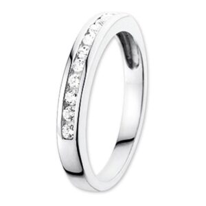 The Jewelry Collection Ring Zirkonia - Goud (8718834308729)